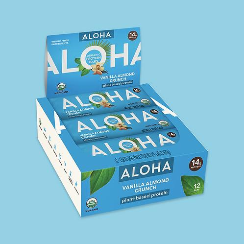 Aloha - Vanilla Almond Crunch x12
