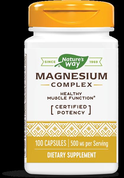 Nature's Way - Magnesium Complex (100 Capsules)