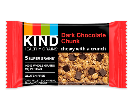 KIND - Dark Chocolate Chunk x15 bars
