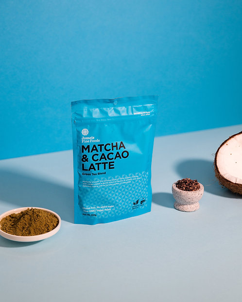 Matcha & Cacao Latte 100gm (40 cups)