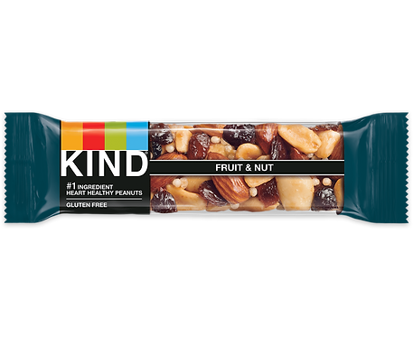 KIND - Fruit & Nut x 12 bars