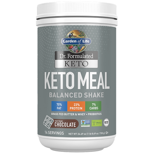 Garden of Life - Keto Meal Balanced Shake (672g)