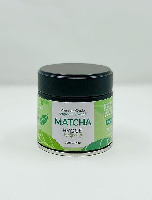 HyggeWellbeing Organic Matcha Powder 30g/1.06oz