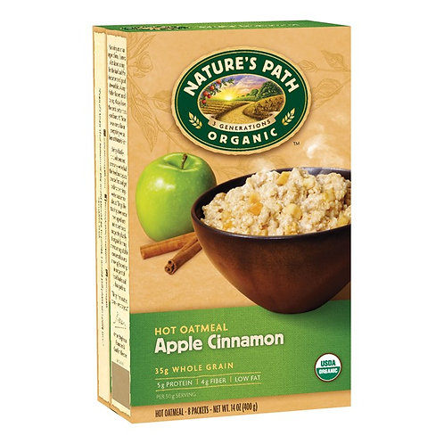 Nature's Path - Hot Oatmeal (Apple Cinnamon) 400g