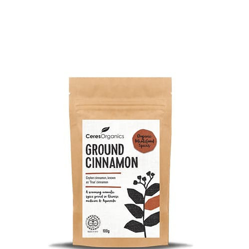 Ceres Organics -Ground Cinnamon 100g