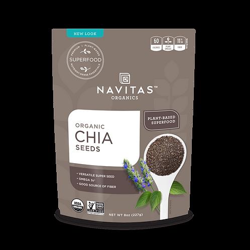 Navitas Organics - Chia Seeds 8oz