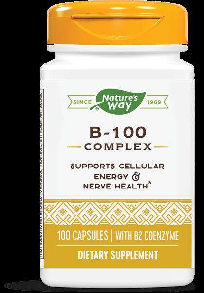 Nature's Way - B100 Complex (100 Capsules)