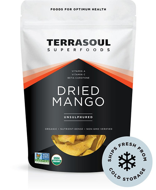 Terrasoul - Dried Mango (4oz)