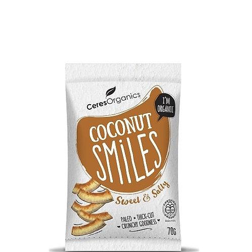 Ceres Organics - Coconut Smiles 70g