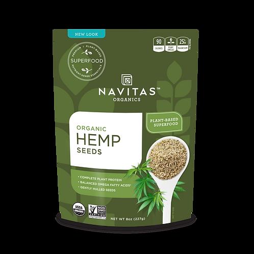 Navitas Organics - Hemp Seeds 8oz
