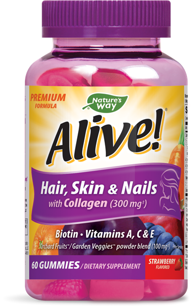 Nature's Way - Hair, Skin & Nails with Collagen (60 tablets)