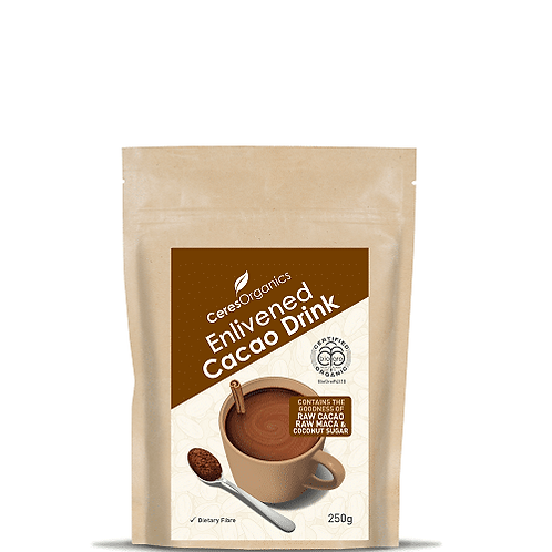Ceres Organics - Enlivened Cacao Drink 250g