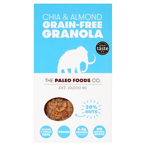 Paleo - Chia & Almond Grain-free Granola
