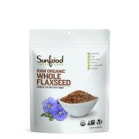 Sunfood - Organic Whole Flaxseed