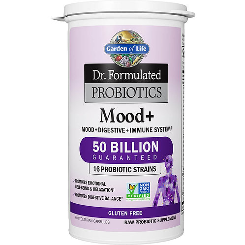 Garden of Life - Dr. Formulated Probiotics Mood+ (60 capsules)