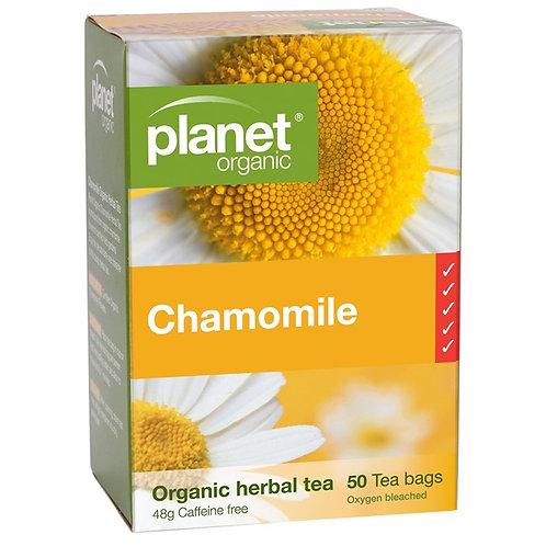 planet organics - Chamomile (50 tea bags)