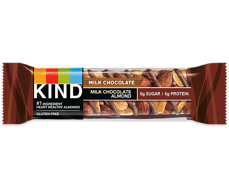KIND - Milk Chocolate Almond x12 bars