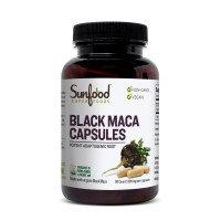 Sunfood - Black Maca Capsules (90 capsules)
