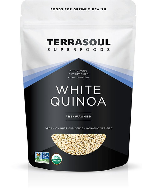 Terrasoul - White Quinoa (32oz)