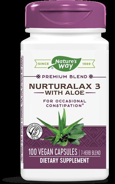 Nature's Way - Nurturalax 3 with Aloe (100 capsules)