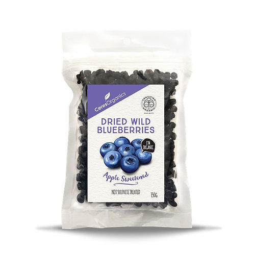 CeresOrganics - Dried Wild Blueberries (150g)