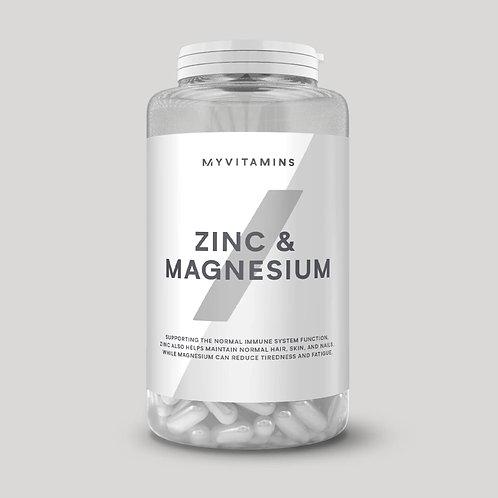 MyVitamins - Zinc & Magnesium (90 capsules)