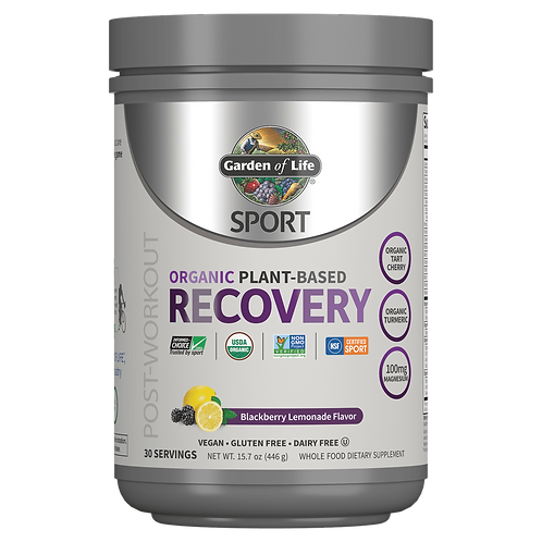 Garden of Life - Organic Plant-Based Recovery (30 Servings)