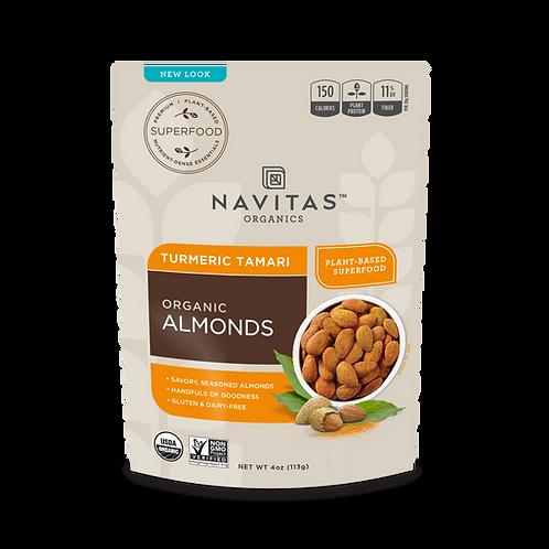 Navitas Organics - Organic Almonds (4oz)