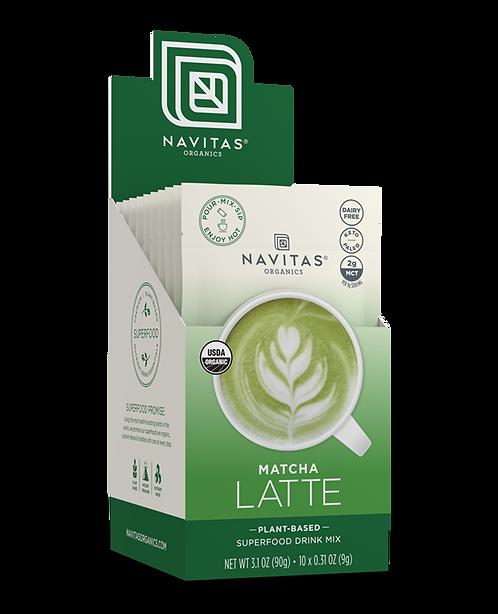 Navitas Organics - Matcha Latte x10packs