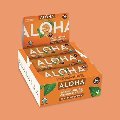 Aloha - Peanut Butter Chocolate Chip x12