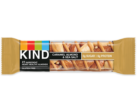 KIND - Caramel Almond & Sea Salt 5g x12 bars