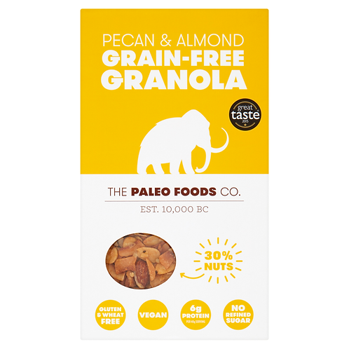 Paleo - Pecan & Almond Grain-free Granola