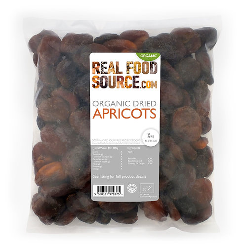RealFoodSource - Organic Dried Apricots (1kg)