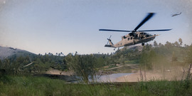 Helicopter extraction