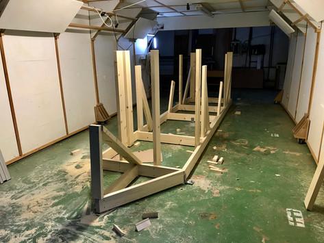 Stavba hellingu a příprava dílů #czechglobe580