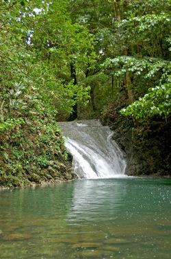 Waterfall, Guatemala