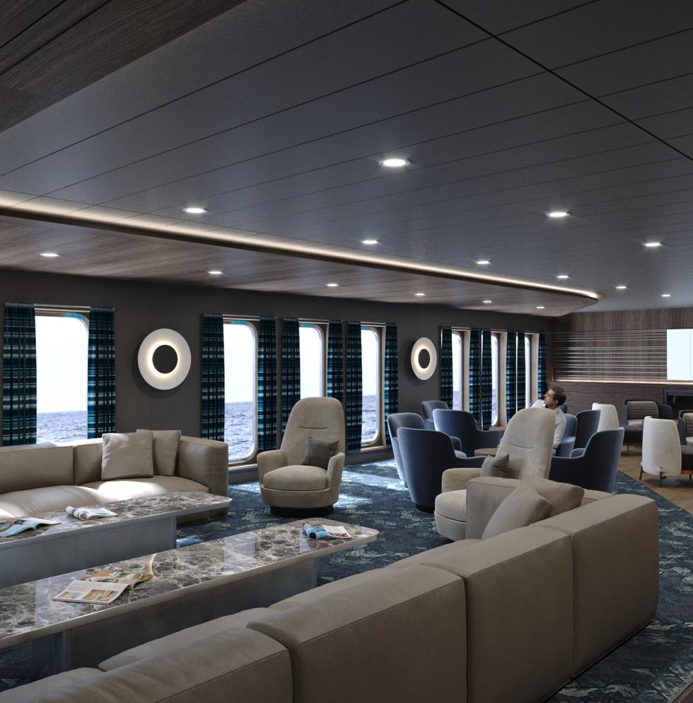 Modern Factory Trawler Lounge