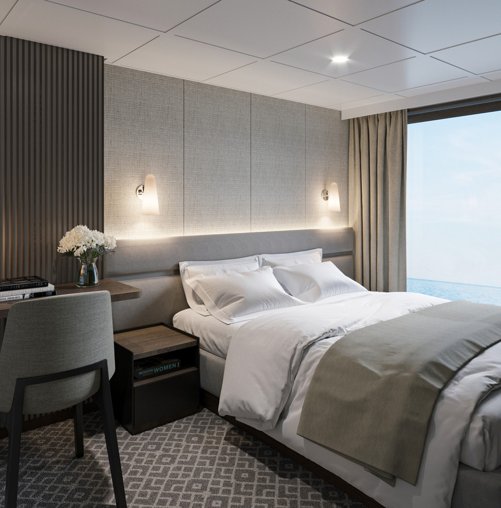 Havila Kystruten Cruise Ship Owner Cabin