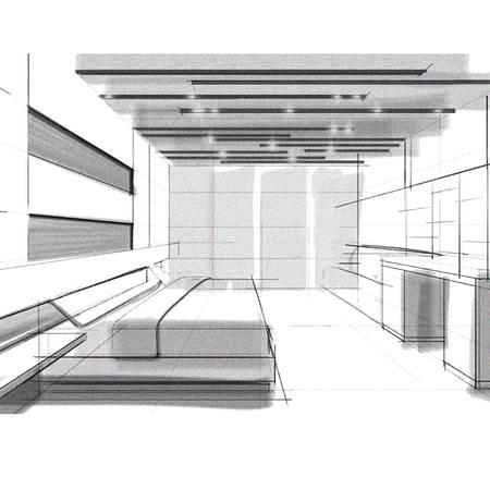 Concept Master bedroom