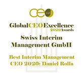 Global CEO Excellence 2020 Awards Swiss