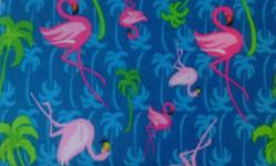 Flamingo Palm Tree Fun!