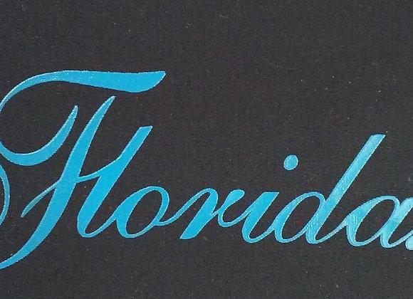Florida Black & Aqua/Turquoise