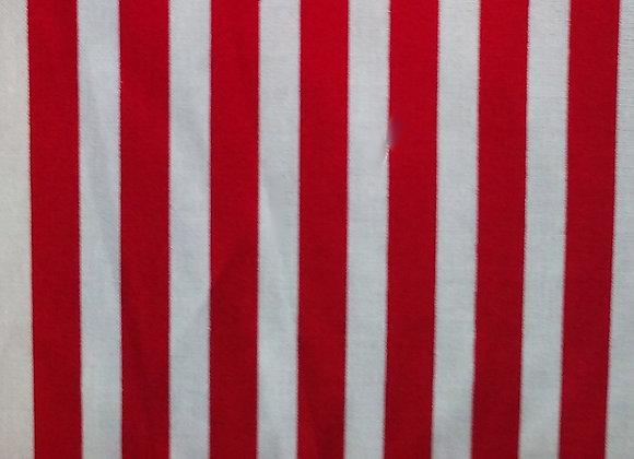 Classic Beach Cabana-Red & White Stripe