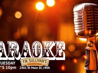 Tuesday at Sully's: Karaoke