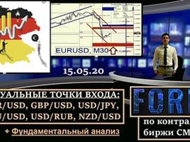 Пятничные заметки по рынку (15/05/20) + теханализ по основным валютам.