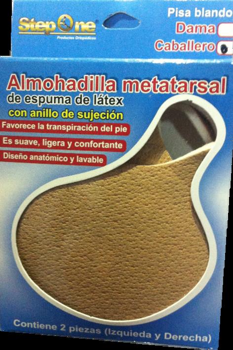 Almohadilla metatarsal C/Anillo (Paso suave)