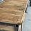 Thumbnail: Industriële houten werkbank XXL