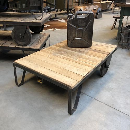 Oude palletwagen