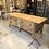 Thumbnail: Industriële werkbank met houten lades