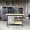 Thumbnail: Oud stalen werkbankje